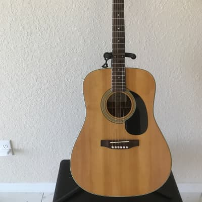 Suzuki Nagoya Sd335 acoustic 1970's? Natural handcrafted guitar with original Suzuki case for sale