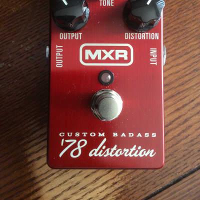 MXR M78 Custom Badass '78 Distortion Awesome Pedal Awesome Sound!
