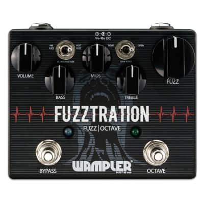 Wampler Fuzztration Fuzz and Octave guitar effects pedal