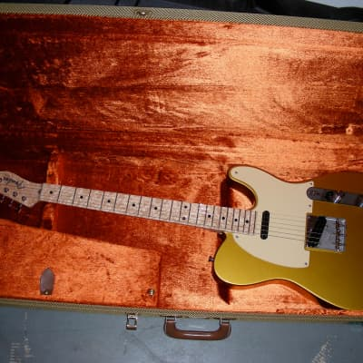 2006 Fender Danny Gatton Custom Shop Telecaster Frost Gold *Christmas price drop* for sale