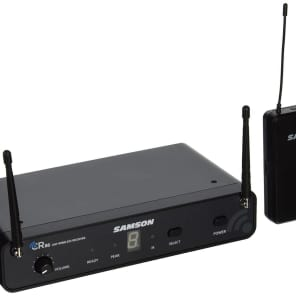 Samson Concert 88 16-Channel True-Diversity UHF Wireless Guitar System - D Band (638-662 MHz)