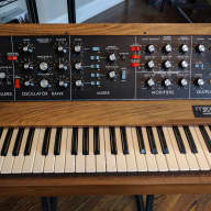 Vintage Moog MiniMoog Model D analog synthesizer