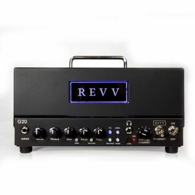 Revv Amplification G20 20/4watt Tube Guitar Amplifier Head for sale