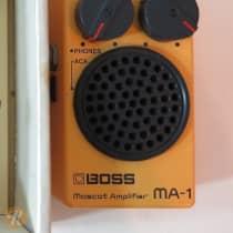 Boss MA-1 Mascot Amplifier 1980s Yellow image