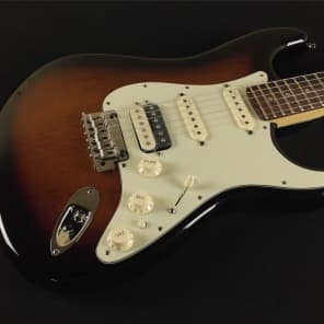 Fender Limited Edition American Deluxe Mahogany Stratocaster HSS Rosewood Fingerboard Mahogany Stain 171509750 (171) for sale
