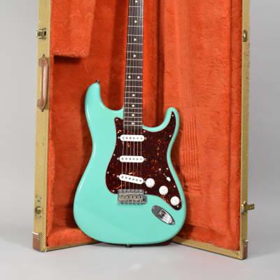 2010 Fender Custom Shop '61 Stratocaster NOS Seafoam Green Electric Guitar w/HSC