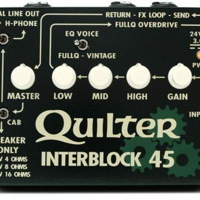Quilter InterBlock 45 45-Watt Guitar Head Pedal