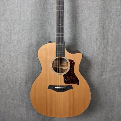 Taylor 514ce Western Red Cedar/Tropical Mahogany Grand Auditorium with V-Class Bracing Natural 2018