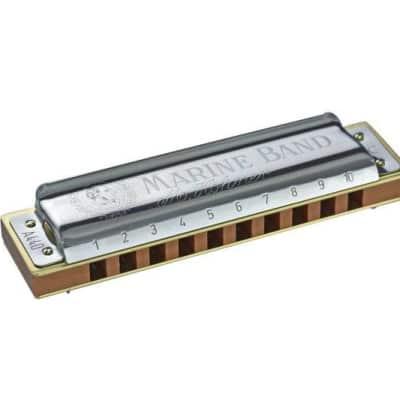 Hohner 1896BX-B Marine Band Harmonica Boxed Key of B