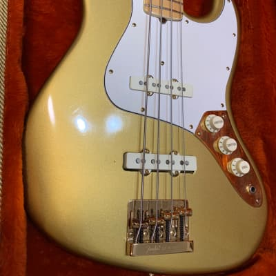 Fender Jazz Bass Collector's Series Limited Edition Gold 1981 for sale