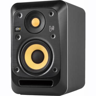 """KRK V4S4 Series 4 85W 4"""" Powered Reference Monitor (Single)"""