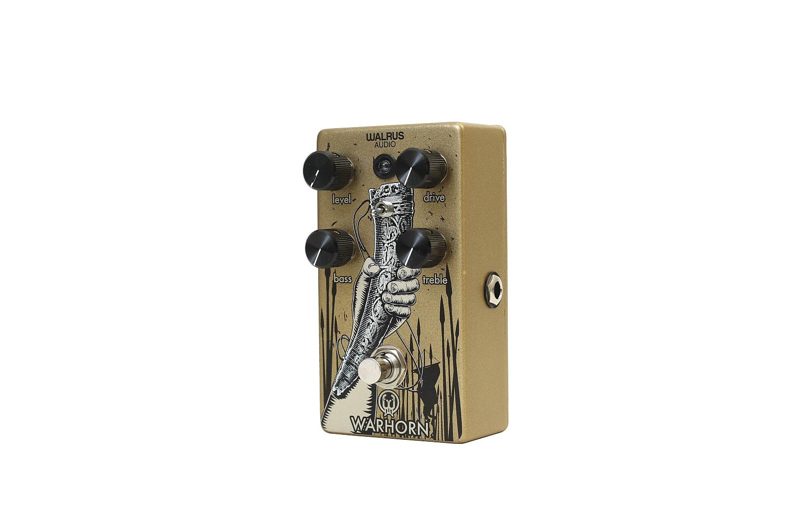 Walrus Audio Warhorn Mid-Range Overdrive Effects Pedal