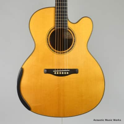 Shanti by Michael Hornick SF Model, Small Jumbo, Cutaway, Sitka, East Indian Rosewood - VIDEO for sale
