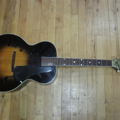 SS Stewart Archtop Guitar 1930s-40s for sale