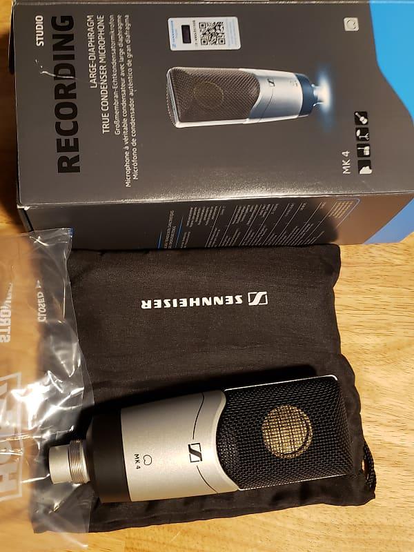 sennheiser mk4 cardioid condenser microphone with shock mount reverb. Black Bedroom Furniture Sets. Home Design Ideas