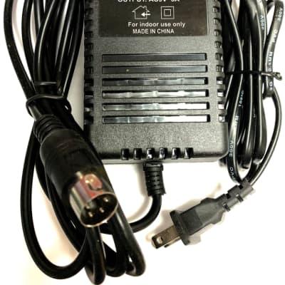 Korg KA163 AC Adapter replacement (not OEM) 9V 3000 mA for SP500, Triton Karma, Radius, VOX Tonelab
