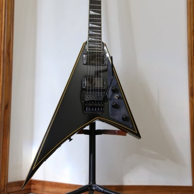 Jackson USA Signature Randy Rhoads RR1 Black with Gold Pinstripes for sale
