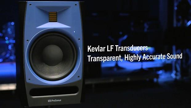 Presonus R65 Studio Monitors Blue Big Dudes Music City