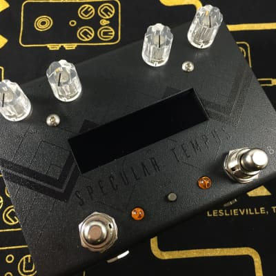 GFI System Specular Tempus Reverb / Delay - Limited Black