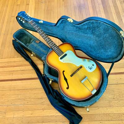 Epiphone Granada e444-t 1964 Sunburst original vintage Kalamazoo USA Gibson es120-t for sale