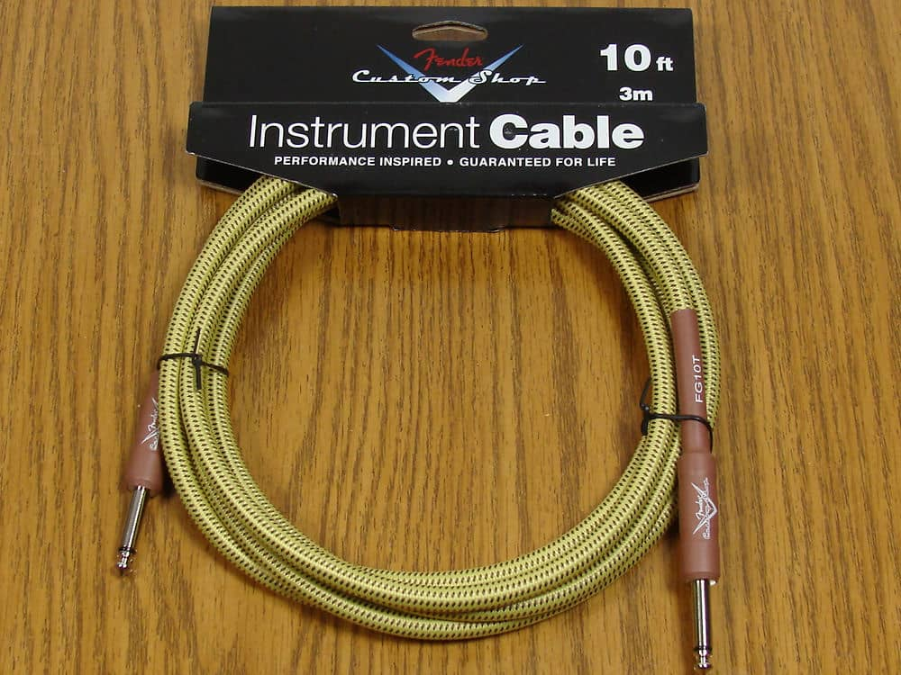 new fender custom shop 10 39 tweed cord cable guitar reverb. Black Bedroom Furniture Sets. Home Design Ideas