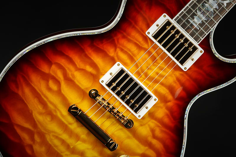 Gibson Custom Shop Les Paul Ultima Tree of Life Fireburst