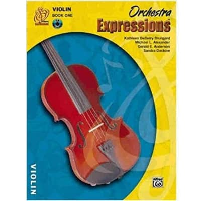 Orchestra Expressions: Violin - Book 1 (w/ CD)