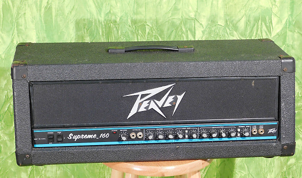 Peavey Supreme 160 Watt Two Chanel Guitar Amp! / *Rip Your | Reverb