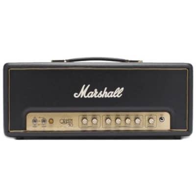 Marshall Origin 50-Watt EL34 Guitar Head ORIGIN50H with Effects Loop, Boost, and Switchable Power 2018