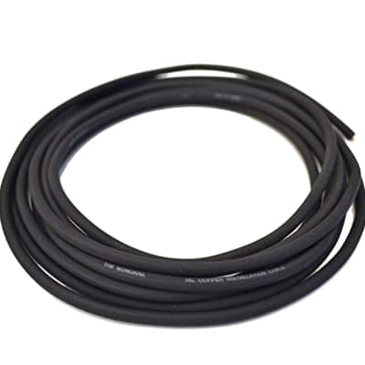 Evidence Audio Monorail Pedalboard Cable by the Foot in Black