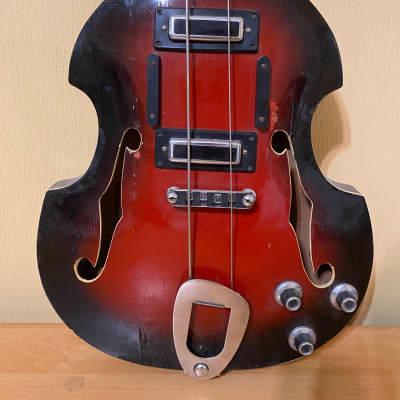 Cremona Violin Bass Guitar Kremona Bulgarian Vintage and Rare for sale
