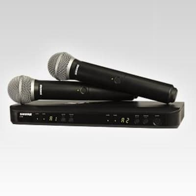 Shure BLX288/PG58 Dual Wireless Microphone System - H10