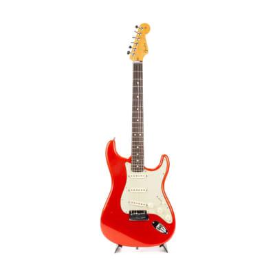 2009 Fender Custom Shop Custom Deluxe Stratocaster Candy Tangerine R490056