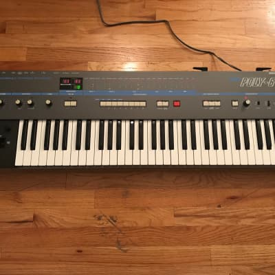 Korg Poly-61 with MIDI Cutoff and Resonance Realtime Control Mods!