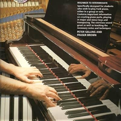 PROGRESSIVE FUNK PIANO METHOD Book & CD