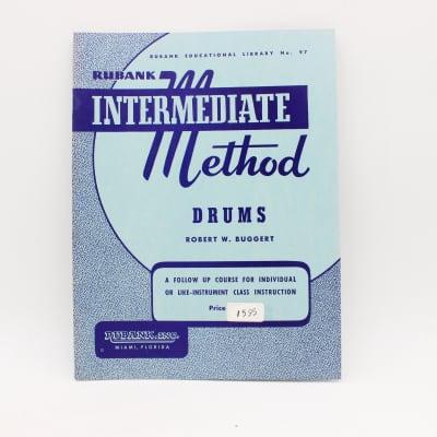 Hal Leonard Rubank Intermediate Method for Drums Music Book No. 97