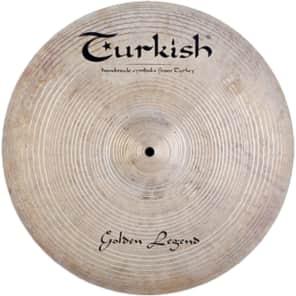 "Turkish Cymbals 16"" Custom Series Golden Legend Crash GL-C16"