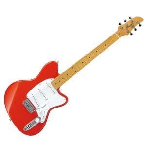 Ibanez TM330M-ANR Talman Standard 300 Series SSS Electric Guitar w/ Tremolo Antique Red w/ Maple Fretboard
