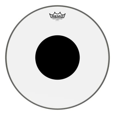 "Remo 16"" Clear Black Dot"