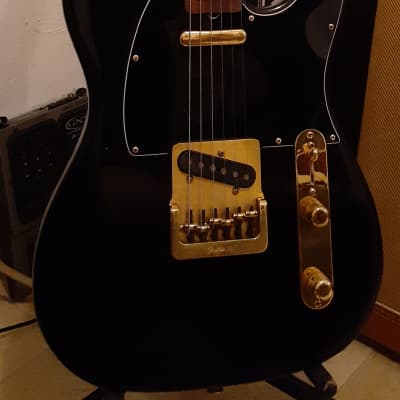 Fender Telecaster  1981 Black and gold for sale
