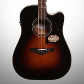 Ibanez AW4000CEBS Artwood Series Acoustic-Electric Guitar Sunburst