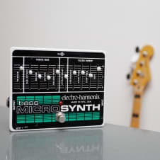 Electro-Harmonix Bass Micro Synth White / Black / Green