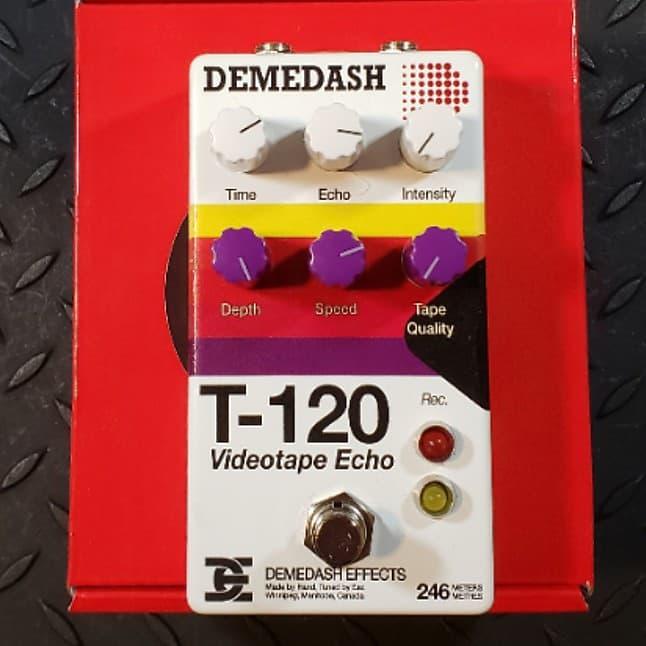 Demedash T-120 Videotape Echo Delay VHS inspired FREE SHIPPING