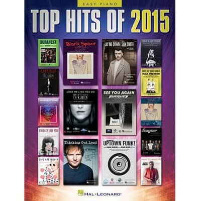 Top Hits of 2015: 20 Hits (Easy Piano Songbook) (Hal Leonard)