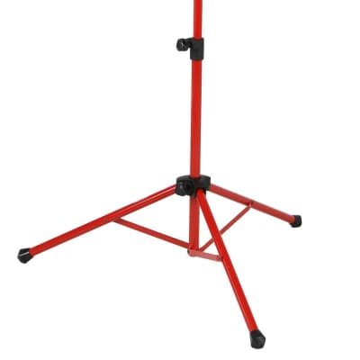 Strukture SMS1XRD Deluxe Folding Music Stand, Red