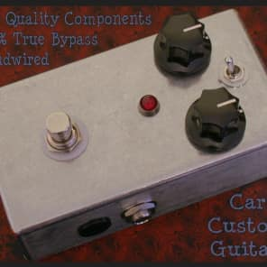 Carl's Custom Guitars Boutique True Bypass Tonebender Tone Bender MKii Mark 2 and Classic Fuzz Face