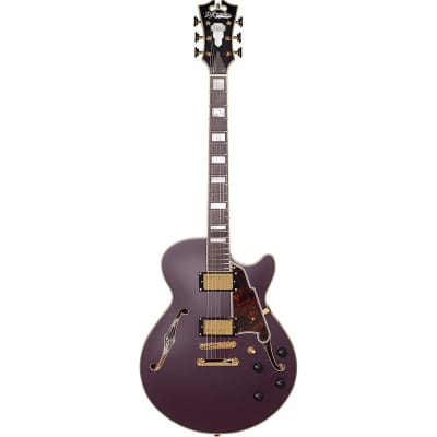 D'Angelico Deluxe SS Semi-Hollow Single Cutaway with Stop-Bar Tailpiece