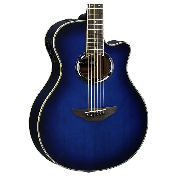 yamaha apx500iii thinline body acoustic electric guitar reverb. Black Bedroom Furniture Sets. Home Design Ideas