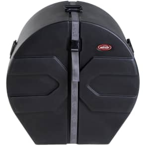 """SKB 1SKB-DM1424 14x24"""" Molded Bass Drum Case with Padded Interior"""