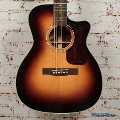 Guild OM-140CE Antiqueburst Acoustic/Electric Guitar B-Stock x1763 for sale